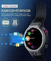 JIANGJIE Smart Watch 4G, Sistema Dual Android 7.1 5MP, cámara ...