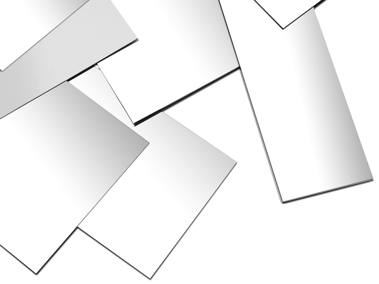 3''x2'' Solid Sterling.925 Silver Sheet, 16 to 30 Gauge Dead Soft, Made in USA ... (20 Gauge) by Bedrock Jewelry