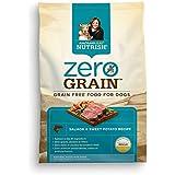 Rachael Ray Nutrish Zero Grain Natural Dry Dog Food, Salmon & Sweet Potato Recipe, Grain Free, 4 lbs