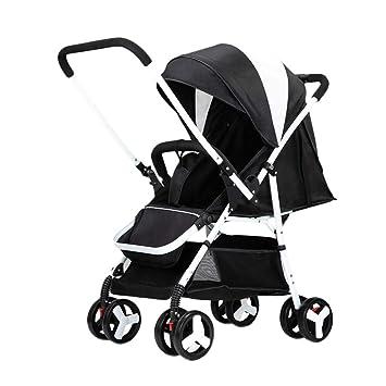 Cochecito de bebé Ultraligero Portátil Puede Sentarse Reclinado Carro Plegable Paraguas Bebé Alto Paisaje Cochecito de Bebé: Amazon.es: Bebé