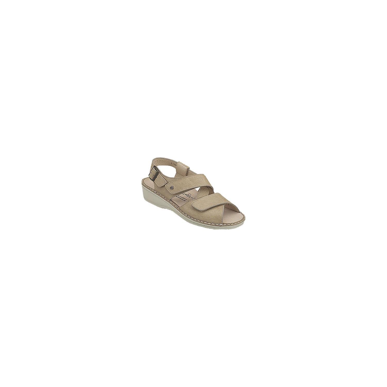 Finn Comfort Women's Jersey Sandal,Marble Idaho,37 EU (US Women's 6 M)