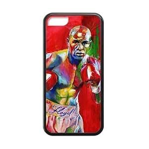 Sports Themes WBC Floyd Mayweather for iPhone 5C TPU Case wangjiang maoyi