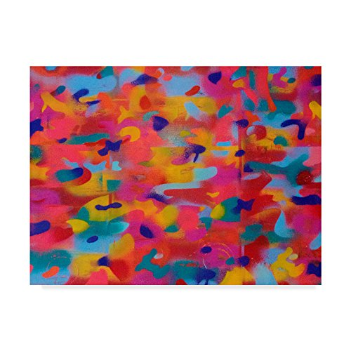 Trademark Fine Art Abstract Camo by Abstract Graffiti