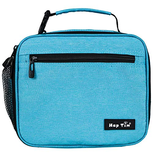 Insulated Lunch Box for Men/Women/Adults,Reusable Lunch Bag,Tough & Spacious Adult Lunchbox(N18654-BL)