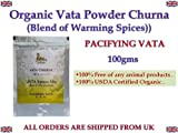 VATA SPICE MIX (POWDER) 100% USDA CERTIFIED ORGANIC - 100gm