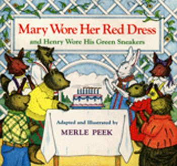 Mary Wore Her Red Dress Book Houghton Mifflin