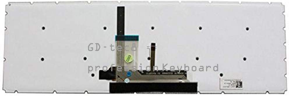 Laptop Keyboard Compatible for Toshiba Satellite P55W-B5112 P55W-B5162SM P55W-B5181SM P55W-B5201SL P55W-B5220 P55W-B5224 P55W-B5260SM P55W-B5318 P55W-B5318D P55W-B5380SM US Black Backlit No Frame