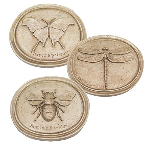 House Parts Oval Bug Plaques Set of ()