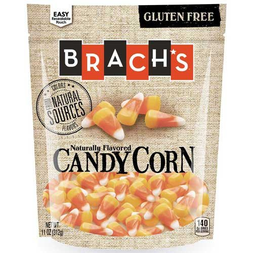Brachs Natural Flavored Candy Corn, 11 Ounce Doy Bag - 12 per case. by Brach's