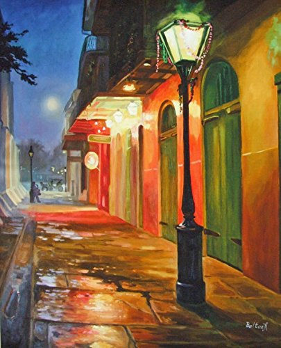 - Pirates Alley New Orleans Baltas Matted Art Print French Quarter