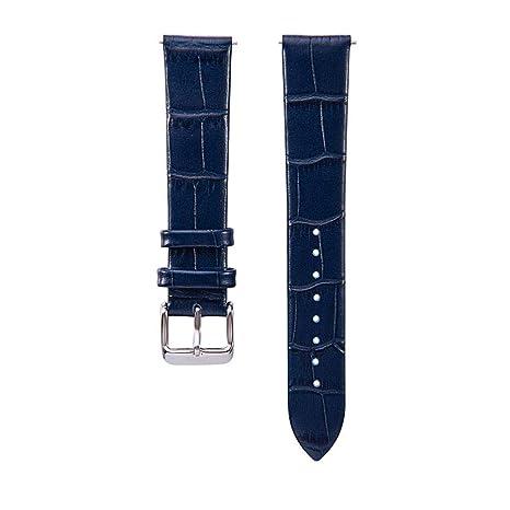 Womdee Für Samsung Galaxy Watch 42mm Armband, Ersatzband Premium Leder Fit Galaxy Watch Active/Gear Sport / S2 Classic/Samsun