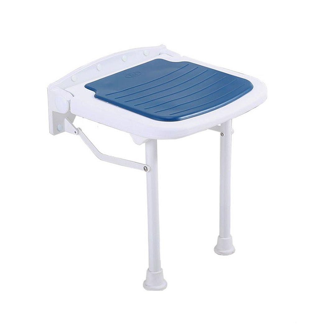全日本送料無料 折りたたみ式の壁のシャワーシートスツールアルミ合金のバスルームの折り畳み式の椅子高耐力折りたたみ式のバススツール300kg (サイズ さいず : 45 cm cm 45 cm) B07DYYNSR8 45 45 cm 45 cm B07DYYNSR8, ボートマリン用品 ヤマハ藤田:1d1ba43a --- efichas.com.br