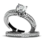Epinki Custom Ring-925 Sterling Silver Ladies Women Rings Birthday Gift Cubic Zirconia Elegant US Size 6