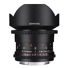 Samyang SYDS14M-N VDSLR II 14 mm Wide-Angle Lens for Nikon (FX) Cameras