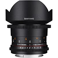 Samyang SYDS14M-N VDSLR II 14mm T3.1 Wide-Angle Cine Lens for Nikon (FX) Cameras