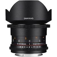 Samyang SYDS14M-MFT VDSLR II 14mm T3.1 Wide-Angle Cine Lens for Olympus/Panasonic Micro 4/3 Cameras