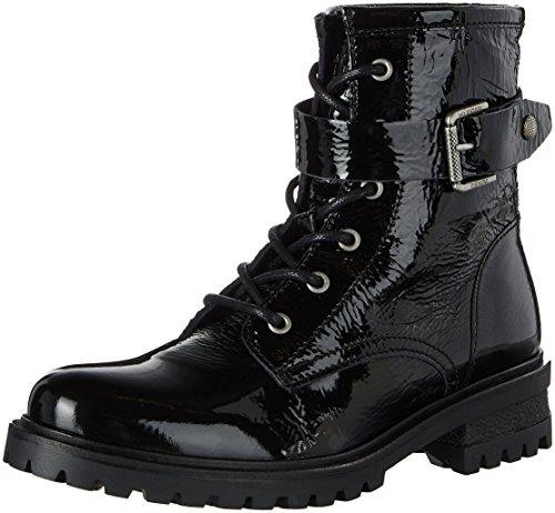 Combat Boots Hilfiger C1385orey Denim Damen 5a qfISP