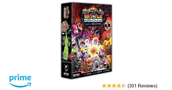 1242a9741e04 Amazon.com  Epic Spell Wars of The Battle Wizards  Duel at Mt. Skullzfyre   Cards  Toys   Games