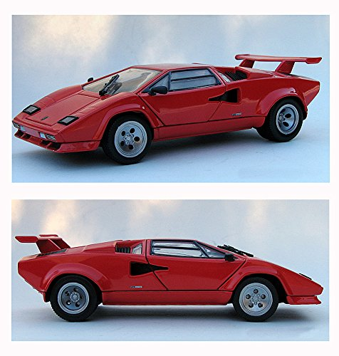 Franklin Mint Collectables (1/24 Scale 1985 Lamborghini Countach 5000S automobile by the Franklin Mint)