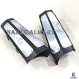 Medieval Splinted Plate Bracers Steel Arm Guard