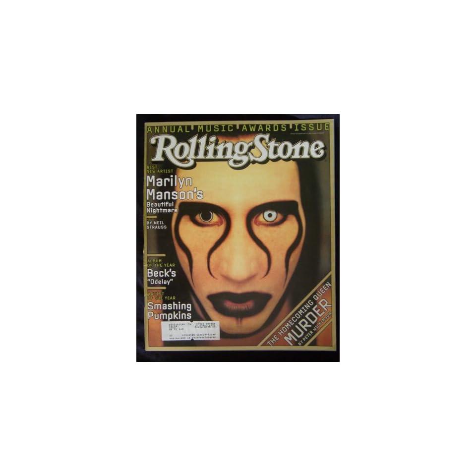 Rolling Stone Magazine (Marilyn Manson, January 23, 1997, 752)