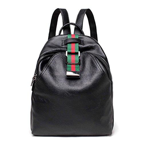 Mochila Señora, Tipo Casual Bolso Messenger Bag Viaje De Ocio De Doble Capacidad Y Gran Capacidad XXBB