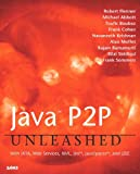 img - for Java P2P Unleashed: With JXTA, Web Services, XML, Jini, JavaSpaces, and J2EE book / textbook / text book