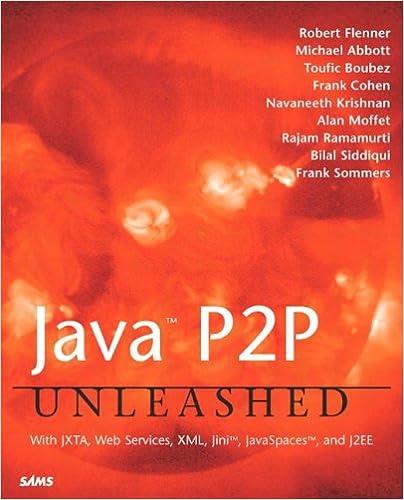 Java P2P Unleashed: Robert Flenner, Michael Abbott, Toufic Boubez