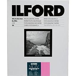 Ilford Multigrade IV RC Deluxe MGD.1M B&W Paper (8 x 10\