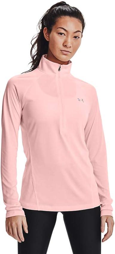 Under Armour Womens Tech 1//2 Zip Long Sleeve Shirt Top Choose Size /& Color H