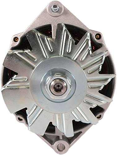 External Fan 12 Volt 61 Amp DB Electrical ADR0133 Alternator for Allis Chalmers Bobcat Case Caterpillar John Deere Clark and Others 1970-98 70270835 70271966 7178-12 7178-3 7186-12 7186-3