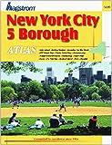 New York City 5 Borough Atlas, Hagstrom Map Company Inc., 0880977531