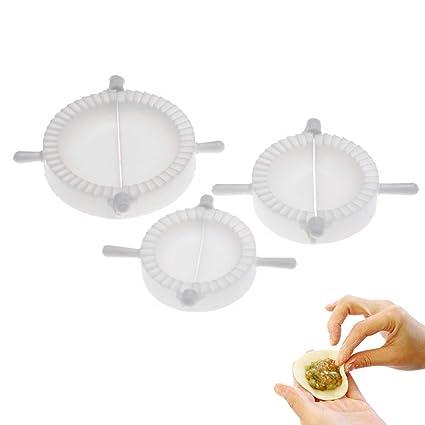 Romote 3pcs Prensa Ravioli Pasta de pasteles de la empanada de masa hervida herramienta del fabricante