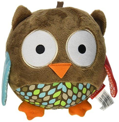 Skip Hop Treetip Friends Plush Owl Chime Ball, Multi