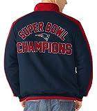4x superbowl champions - New England Patriots Throwback 4X Super Bowl Champions Fleece Jacket