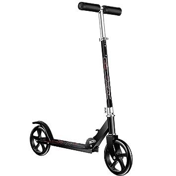 LJHBC Patinete Altura Regulable Ligera Scooter pateador de ...