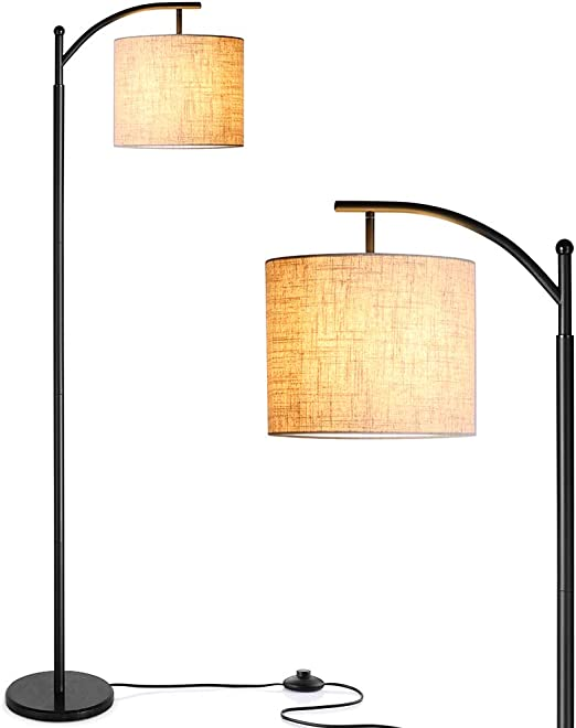 Zanflare Lámpara de pie para salón. Lámpara de pie con pantalla colgante, Lámpara para Dormitorio, Oficina, Lámpara de salón de larga duración(Bombilla E27 incluida): Amazon.es: Iluminación