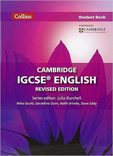 Cambridge IGCSE English Student Book (Collins Cambridge IGCSE ...