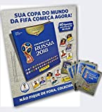 capa de Cartão Copa 2018 - Caixa (+ 60 Figurinhas)
