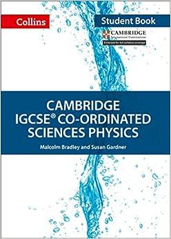 Book Cambridge IGCSE® Co-ordinated Sciences Physics Student Book (Collins Cambridge IGCSE)