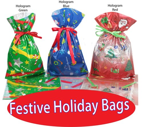 GiftMate 24 Piece Drawstring Gift Bag and Tag Set