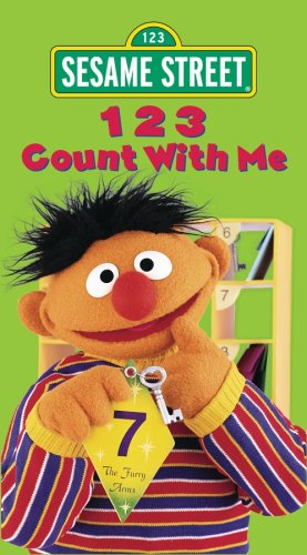 Sesame Street 123 Count With Me Vhs Import It All
