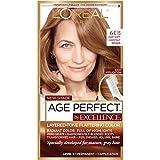 hair color chestnut - L'Oréal Paris Age Perfect Permanent Hair Color, 6CB Light Soft Chestnut Brown