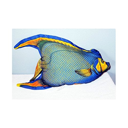 JCPenney Queen Angel Fish Decorative Fish Shaped Pillow 24