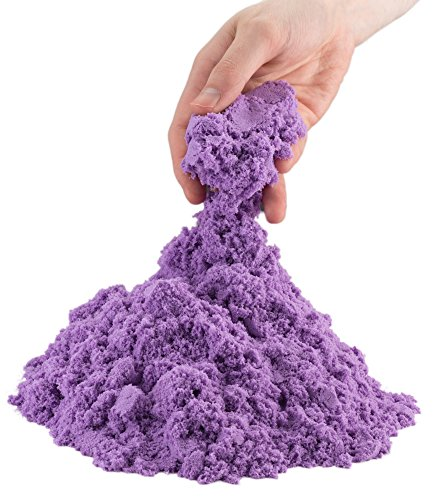 Motion Sand Play Sand for Kids by Toydaloo, 2 lb. Refill Package (Purple) (Liquid Refill Package)