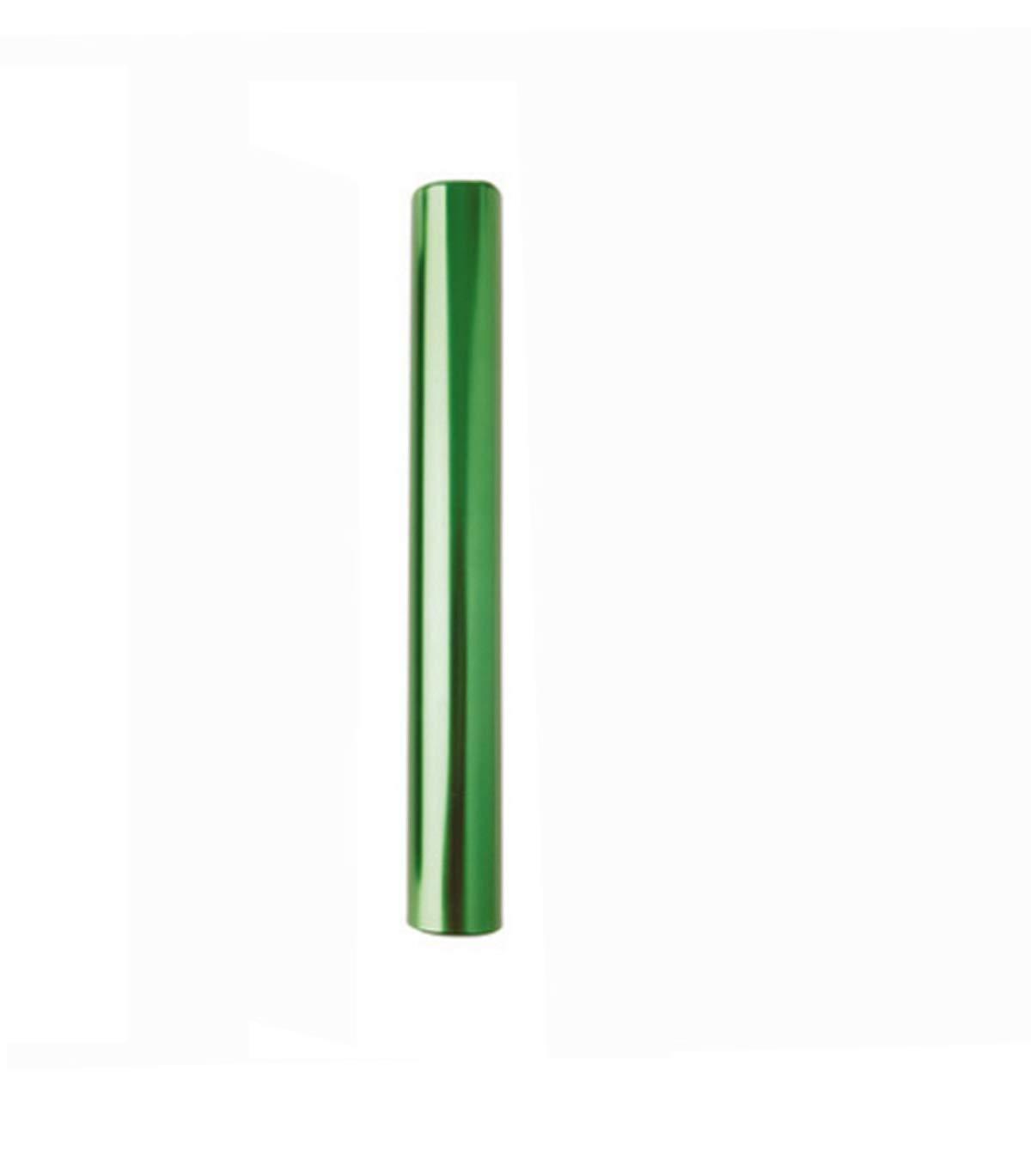 Longueur Visiodirect T/émoin de Relais en Aluminium Coloris Vert 38 mm Diam/ètre 30 cm