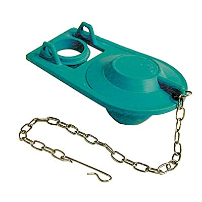 Danco 88442 Premium Toilet Flapper with Chain and Hook, Rubber