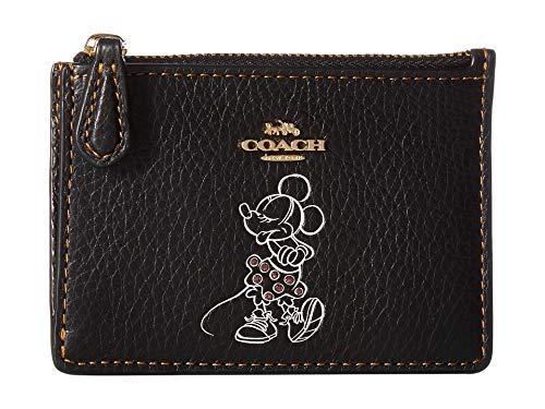 COACH Women's Boxed Minnie Mouse Mini Skinny ID Case Disney x COACH Li/Black One Size