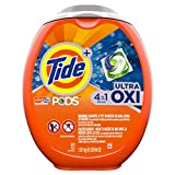 Tide Pods Liquid Detergent Pacs, Ultra Oxi, 61 Count