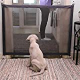 Aisikasi Pets and Child Safety Gate Magic Gate Safety Enclosure Portable Folding Safe Guard Install Anywhere